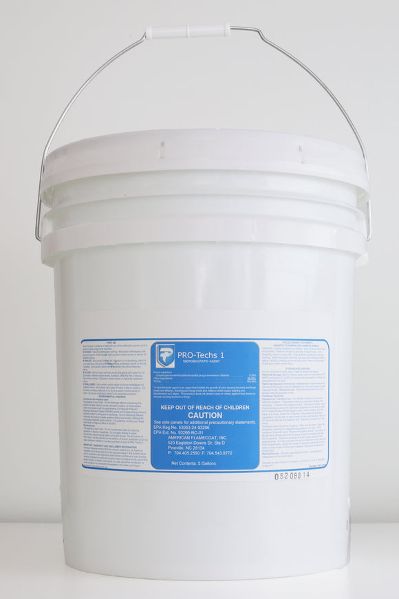 PRO-Techs (Biostatic Antimicrobial Protective Agent)   5 gallon