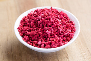 ORGANIC FREEZE DRIED RASPBERRY CRUMBLE