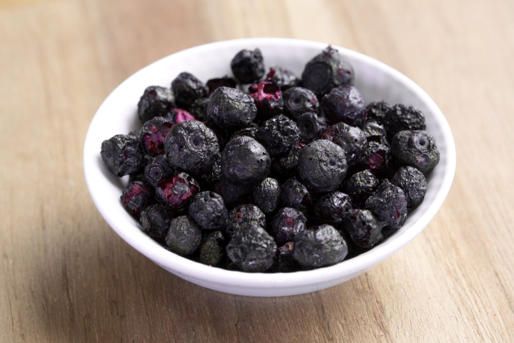 ORGANIC WILD FREEZE DRIED WHOLE BLUEBERRIES
