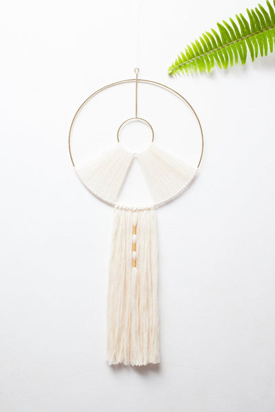 Long Threaded Wall Hanging