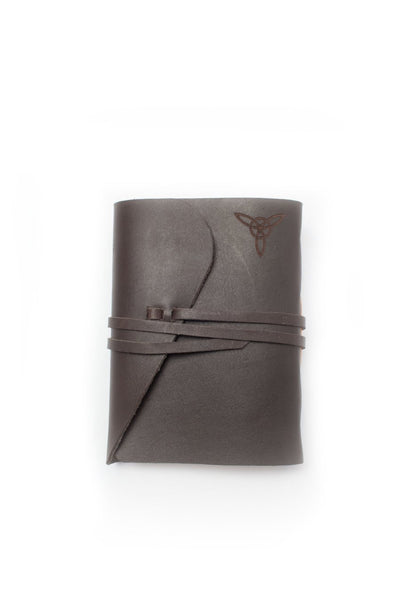 Leather Notebook - Dark Brown