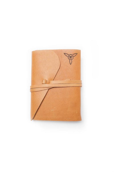 Leather Notebook - Cognac