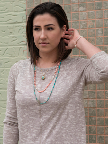 Necklaces - Atlas Turquoise Necklace