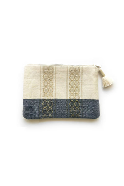 Zippered Pouch - Natural