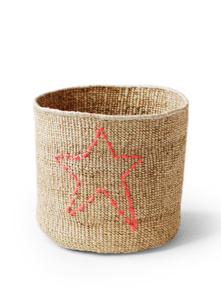 Home Goods - Stitched Banana Star Basket