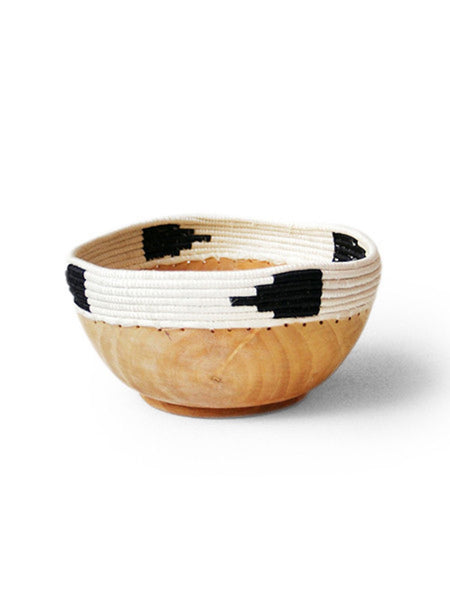 Home Goods - Triangle Copabu Wooden Bowl