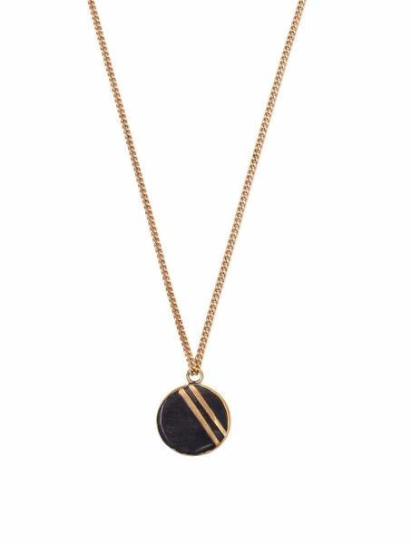 Necklaces - Rahisi Horn Necklace Black