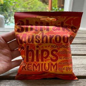 Shiitake Mushroom Chips (Spicy Flavor)