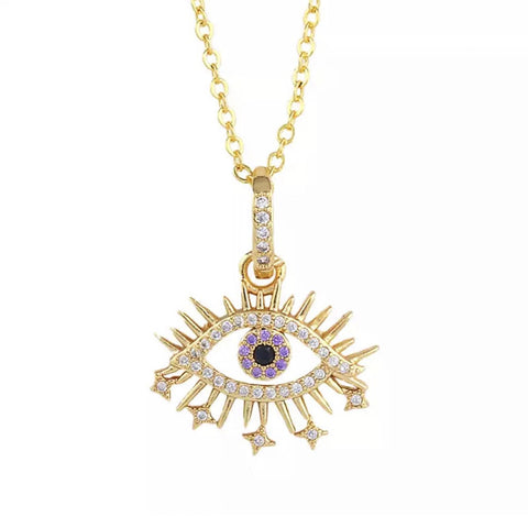 Akisa Evil Eye Necklace