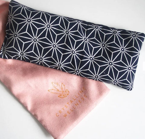 Eye Pillow Lavender - Night Star pattern