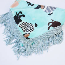 Load image into Gallery viewer, Turquoise Velvet Boutique Pet Bandana