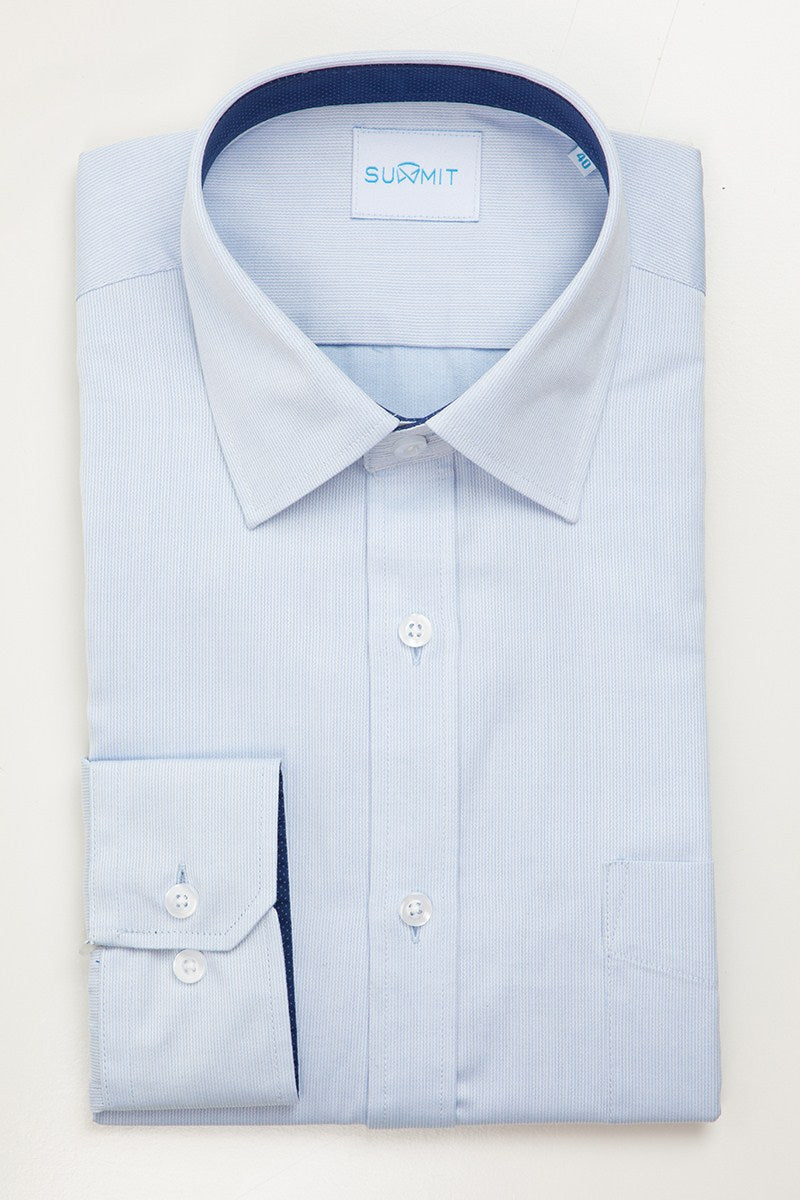 ASPIRING FYI042 SHIRT - Light Blue