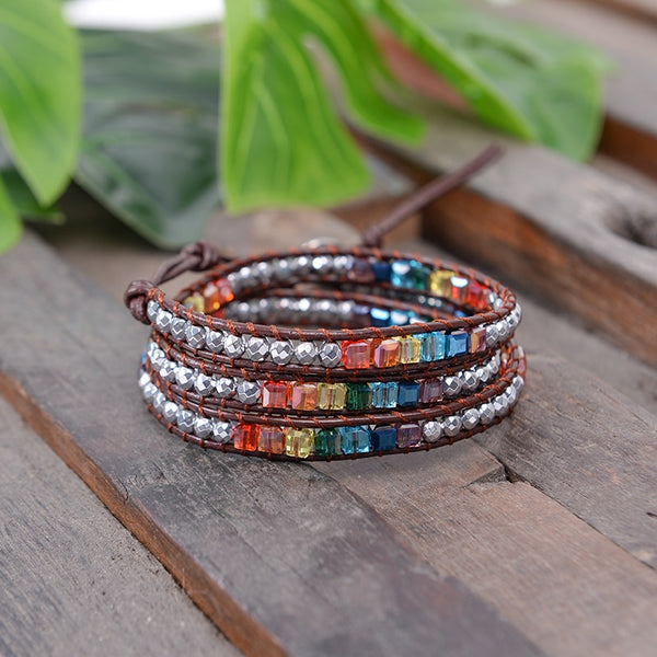 """Chakra Flow"" Natural Stone Bracelet Series"