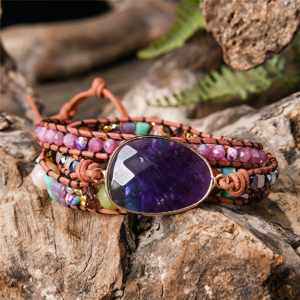 """Spectrum"" Natural Stones Bracelet Series"