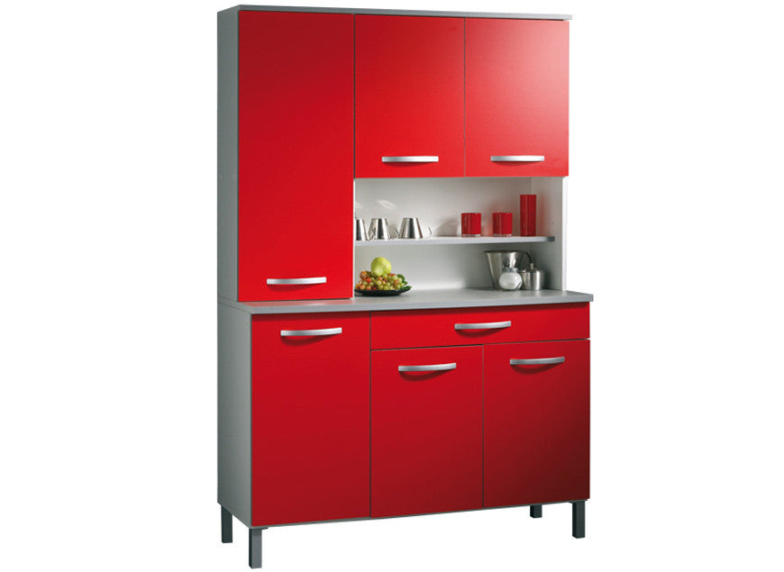 Buffet de Cuisine Digitale Rouge