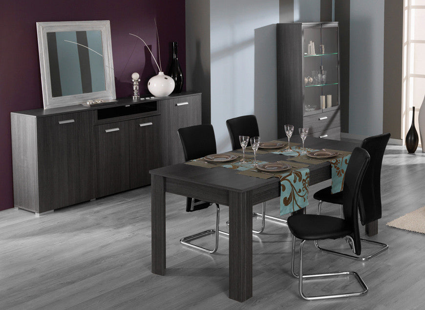 Ensemble TERRA (Enfilade + Table + 4 x Chaises)