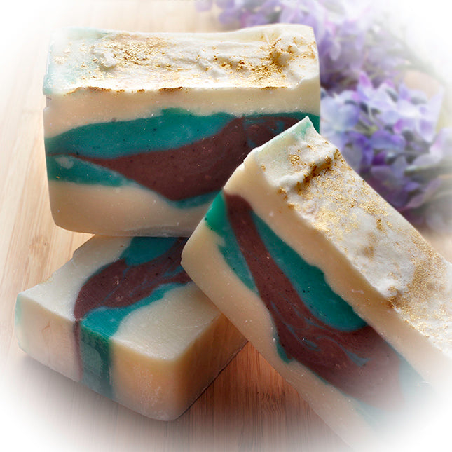 Bamboo Soap (4Oz) - Handmade Soap Bar with Lilac Essential Oils