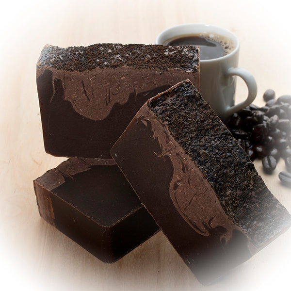Coffee Scrub Soap Bar (4Oz) - made with Fresh Brewed Coffee
