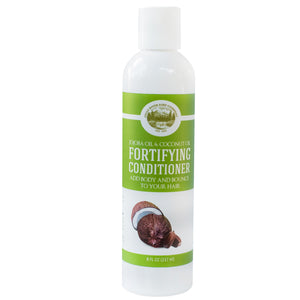 Fortifying Conditioner – Jojoba Oil and Coconut Oil - 8 Oz - Sulfate Free