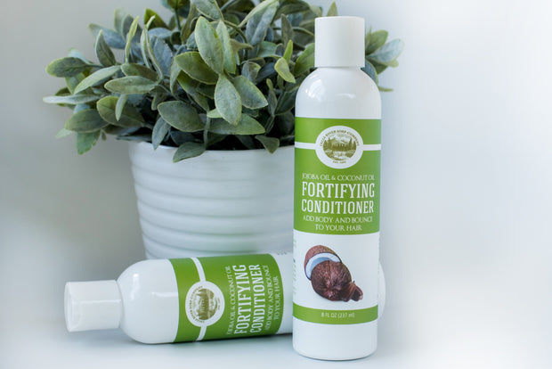Fortifying Conditioner – Jojoba Oil and Coconut Oil - 8 Oz - Sulfate Free 1