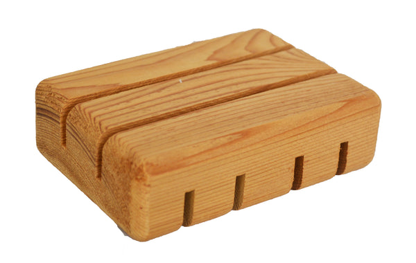 Wooden Soap Saver, Hand Craft, 100% Natural Pine Wooden Holder