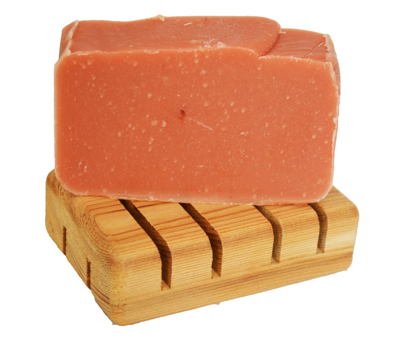 Pack of 2 - Wooden Soap Saver, Hand Craft, 100% Natural Pine Wooden Holder