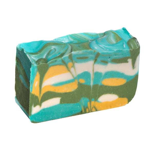 Green Tea Soap (4Oz) - made with fresh brewed Green Tea