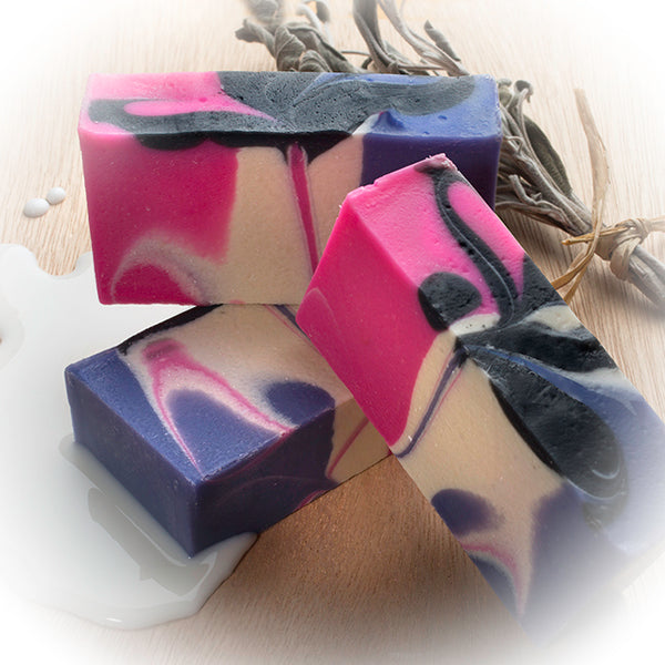 Goat Milk Lemongrass Soap (4Oz) – Goat Milk Handmade Soap