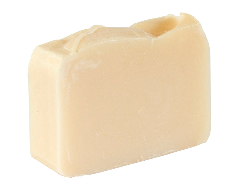 Natural White Soap Bar (4Oz)- Hypoallergenic, Fragrance Free and Dye Free Soap