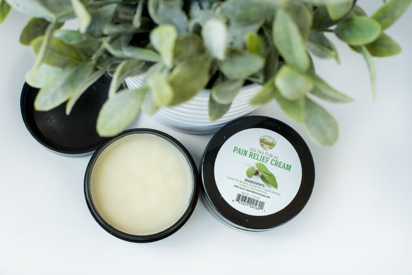 Pain Relief Therapy Cream [2 Oz] - Natural Therapeutic Grade Essential Oil