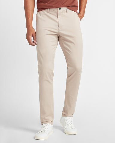 Slim Temp Control Hyper Stretch Chino in Tan
