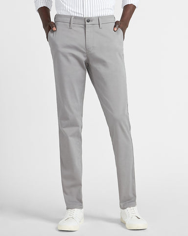 Skinny 365 Comfort Hyper Stretch Chino in Crystal Gray