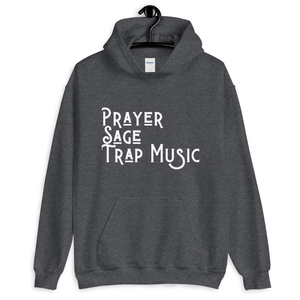 Prayer & Trap Music Hoodie