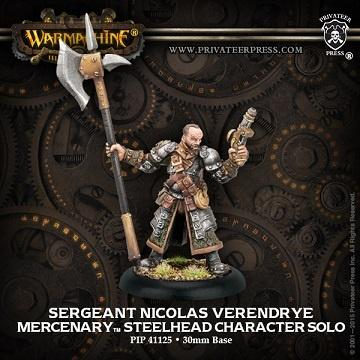 Pip41125 Mercenary Sergeant Nicolas Verendrye - Good Games