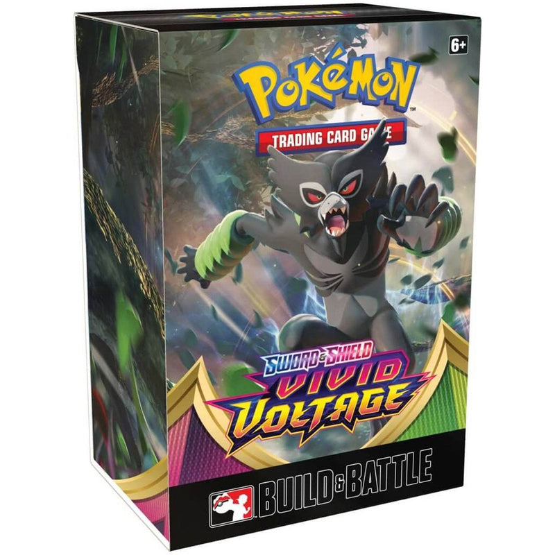 Pokemon TCG Vivid Voltage - Build and Battle Kit - The Games Capital