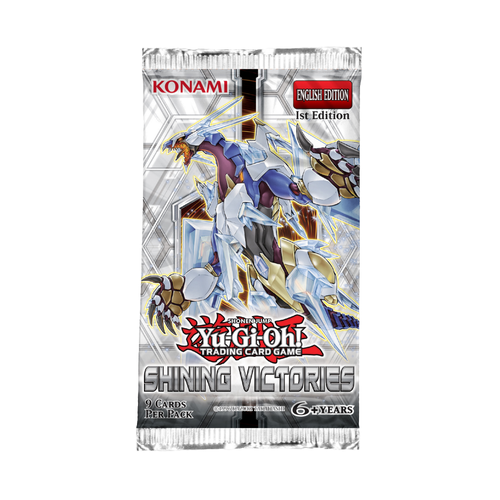 Yugioh Shining Victories Booster Pack