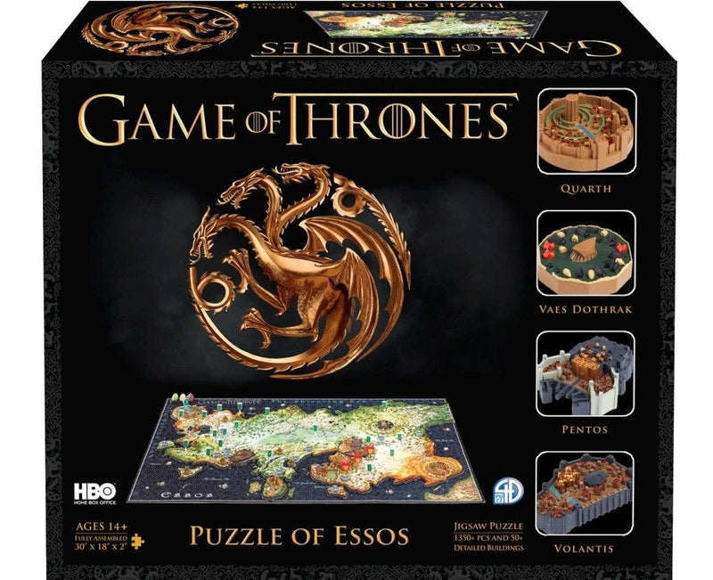 4D Cityscape A Game Of Thrones - Essos