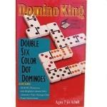 Domino King Double Six Coloured Dots - Good Games