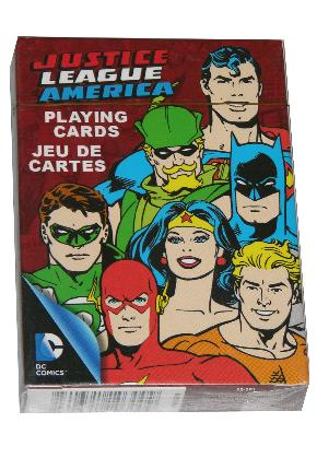 Dc Comics Retro Justice League Playing Cards - Good Games