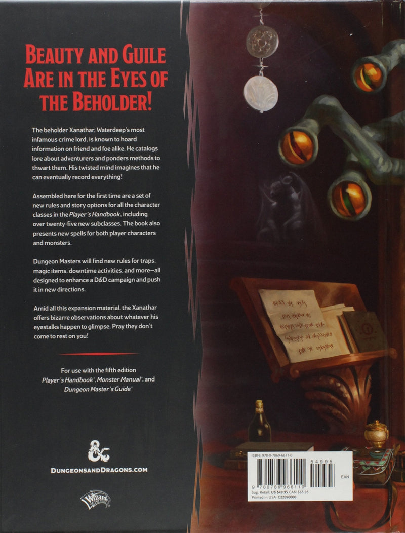 Dungeons & Dragons Xanathar's Guide To Everything - Good Games