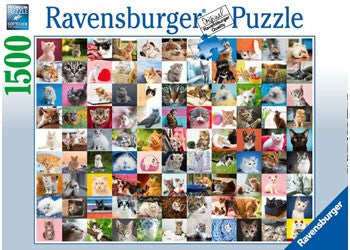 Ravensburger 99 Cats - 1500 Piece Jigsaw