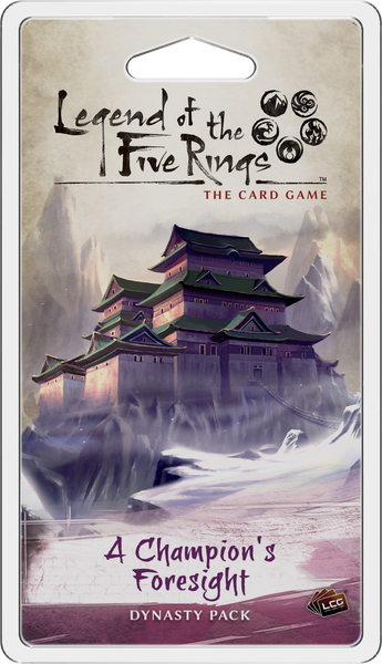 Legend of the Five Rings: The Card Game - A Champions Foresight