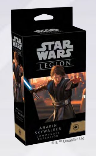 Star Wars: Legion - | Anakin Skywalker Commander Expansion Pack PREORDER - The Games Capital