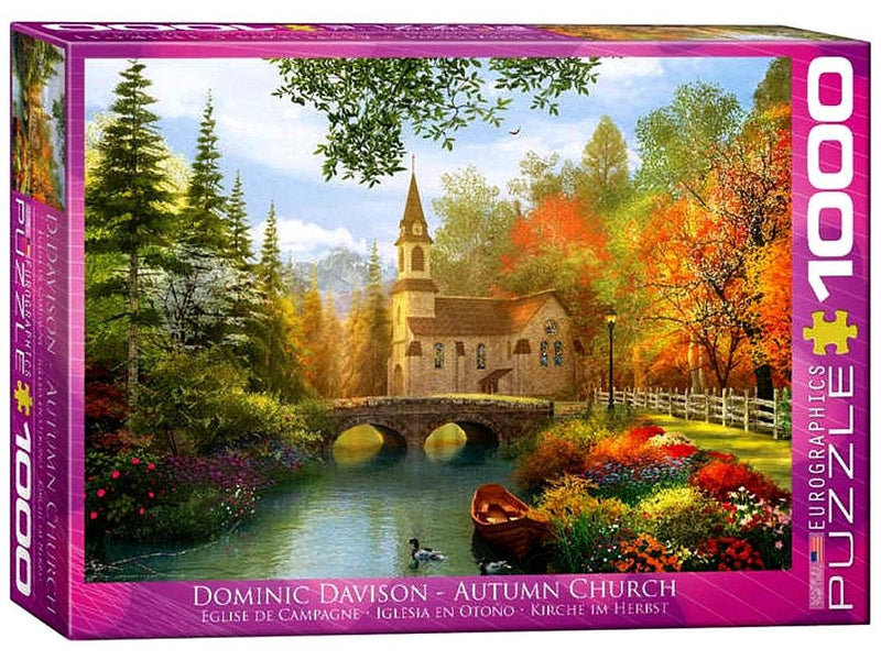Autumn Church 1000Pc Jigsaw - Eurographics