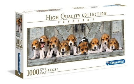 BEAGLES CLEMENTONI 1000PC JIGSAW