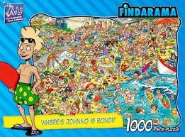 Bondi: Where'S Johnno? 1000Pc Jigsaw