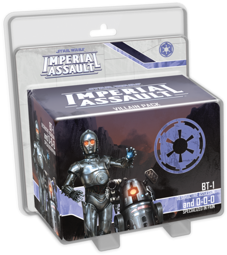 IMPERIAL ASSAULT: BT-1 AND 0-0-0 - STAR WARS