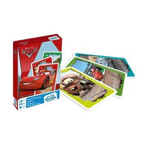 Disney Cars - Pairs And Donkey Game