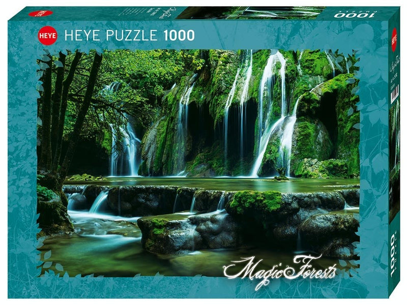 Cascades: Magic Forest 1000pc Jigsaw Heye