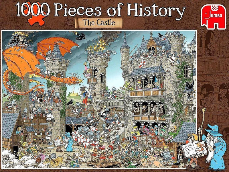 The Castle, Pieces Of History: 1000pc Jumbo